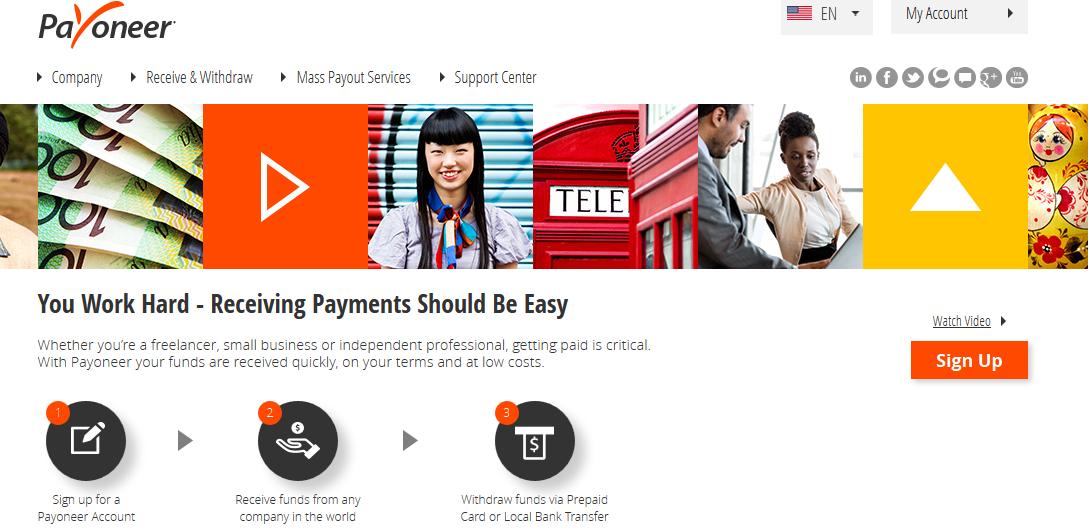 Payoneer MasterCard Free