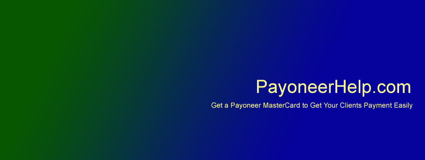 Welcome to Payoneer Master Card Help Website